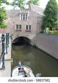 The river Binnendieze in s-Hertogenbosch in the Netherlands