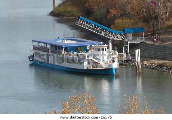 River Boat At landing