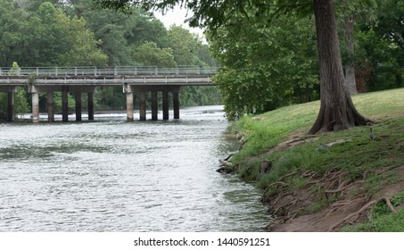 river to bridge in new braunfels texas
