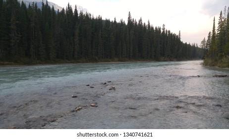 River, Camping, Jasper, Alberta, British Columbia, Canda