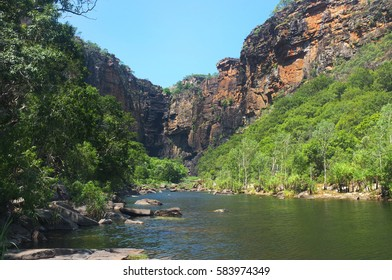 The river with canyon view  from the Kakadu National Park, Northern Territory, Australia