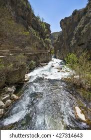 River Castril, Granada Province, Andalusia, Spain