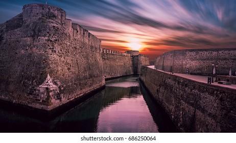 River in Ceuta , Spain