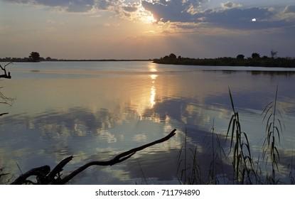 River Chobe, Kasane, Botswana