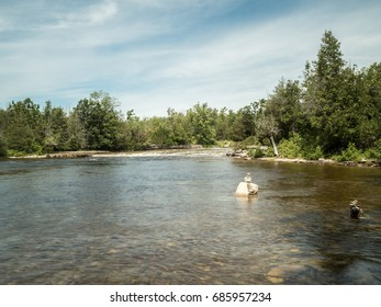 River Chutes And Rapids