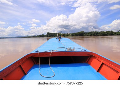 River cruise in Mekong river
