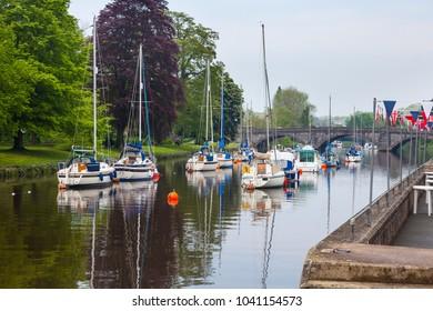 The River Dart at Totnes Devon England UK Europe