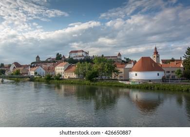 River Drava and Ptuj castle