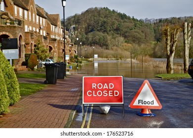 River Flooding road.