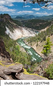 River flow yellowstone national park