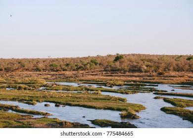River as it flows
