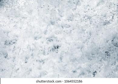 River foam close up
