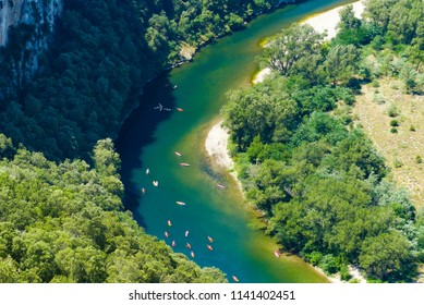 River and forest in Ardeche