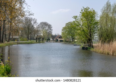 The River Gein At Abcoude The Netherlands 2019