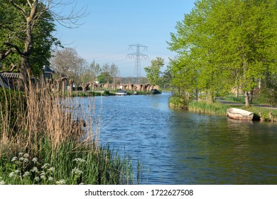 River Gein Around Abcoude The Netherlands 2020