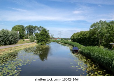 River Gein Around Abcoude The Netherlands 17-6-2020