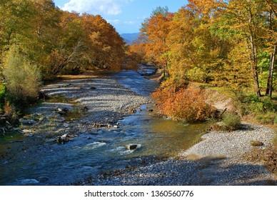 River in Greece
