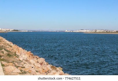 River the Guadiana by portugal