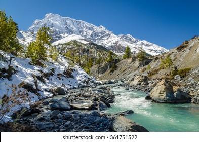 River in Himalayas
