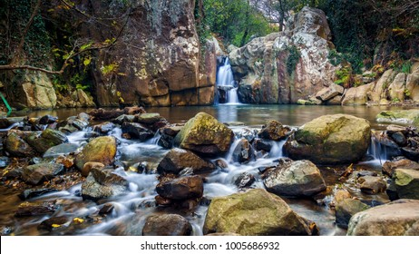 River of Honey Waterfall Algeciras Cadiz Spain