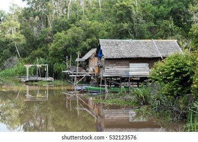 River house at Tanjung Puting Kalimantan