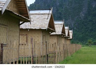 River huts in Luang Parbang