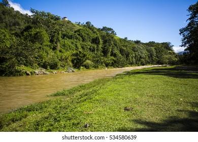 River in Jarabacoa Dominican Republic