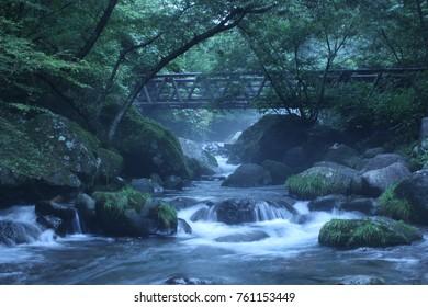 river in karuizawa