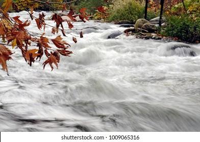 River in Keles district of Bursa province.Turkey