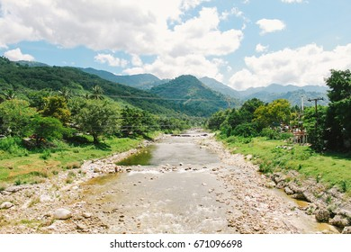 River at Kiriwong Village, Nakhon Si Thammarat, Thailand