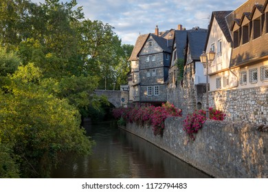 The river Lahn, Wetzlar, Germany