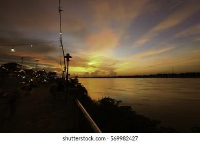 river, landscape,
