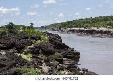 river landscape, Thailand