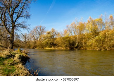 River in late autumn