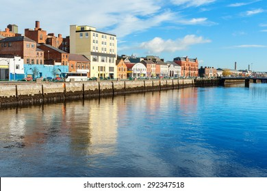 River Lee. Cork city, county Cork, Ireland