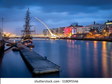 The River Liffey  is a river in Ireland, which flows through the centre of Dublin.