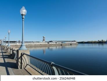 River Light Posts