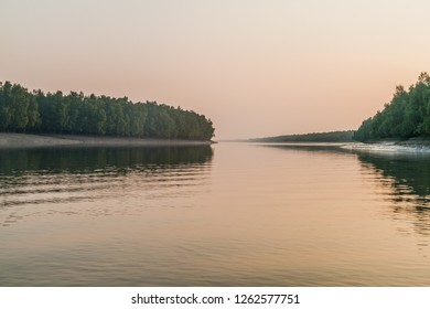 River and mangrove forest in Sundarbans, Bangladesh