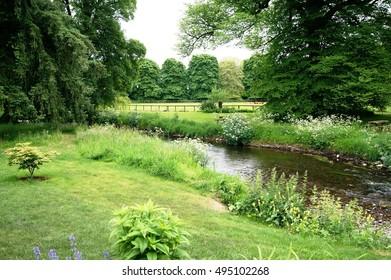 The River Martin at Blarney, Ireland