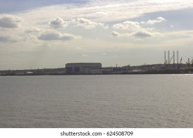 River mersey in Liverpool