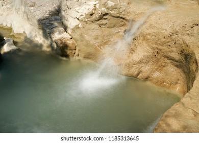 The river Mirna near the village Kotli in Istria in Croatia