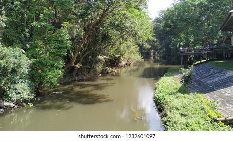 river morphology at Kao Yak National park, Thailand