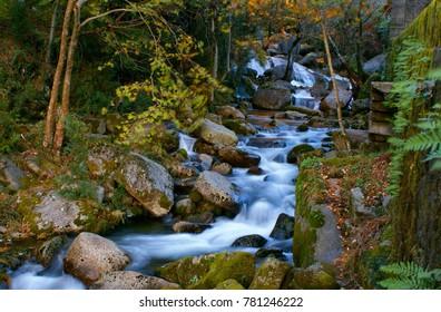 River mountain in National Park of Peneda Geres, Portugal