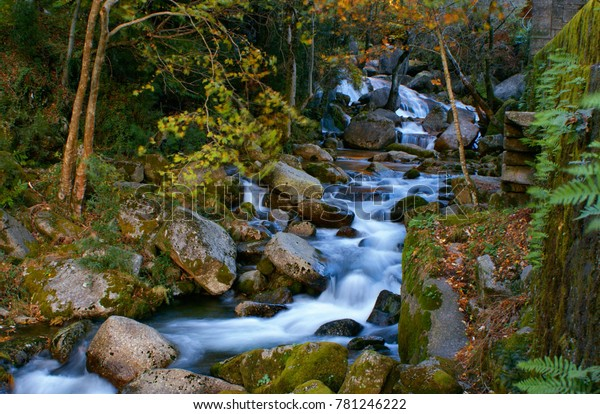 River mountain in National Park of Peneda Geres, Portugal