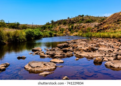 River in the mountain in South Africa