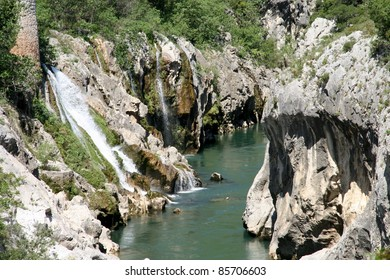River in the Cévennes National Park, France