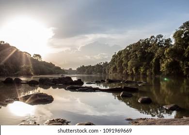 Comoé River in Comoé National Park, Ivory Coast