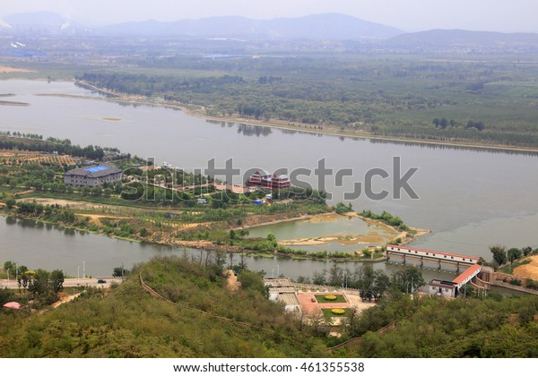 river natural scenery in china