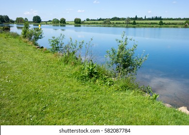 River Nene in Peterborough, Cambridgeshire, UK