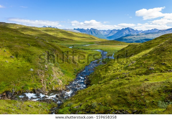 River in a Norwegian mountain